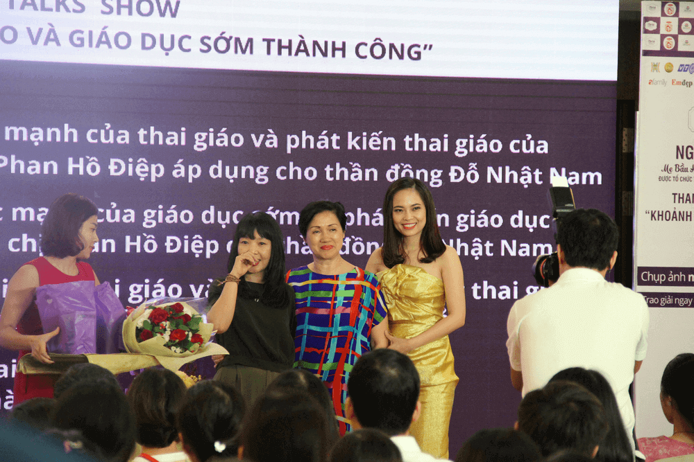 Mẹ thần đồng Đỗ Nhật Nam bật mí kinh nghiệm thai giáo