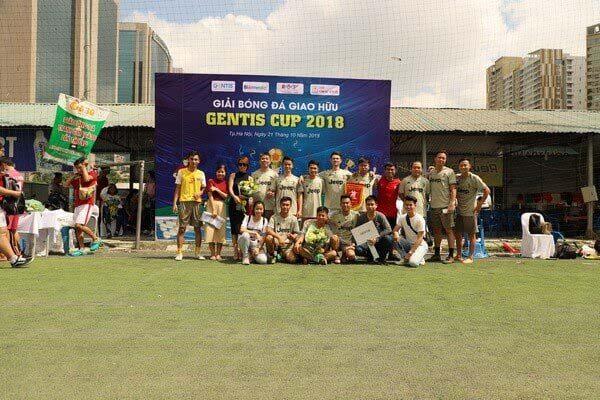 GENTIS tổ chức giải bóng đá GENTIS CUP 2018 kỷ niệm 8 năm thành lập