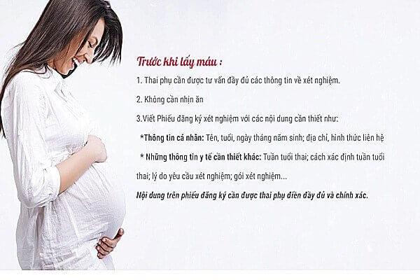 quy trình sàng lọc trước sinh