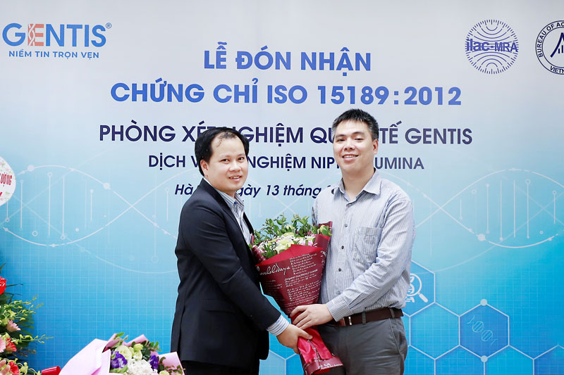 lế đón chứng chỉ ISO 15189:2012