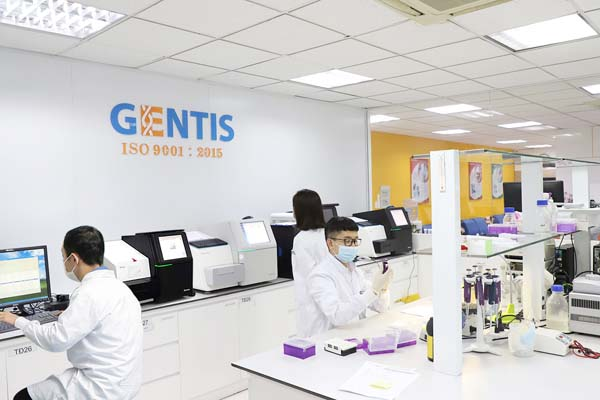 phòng lab Gentis