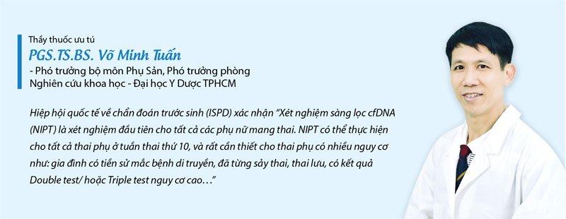 PGS TS BS Võ Minh Tuấn