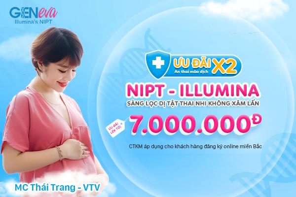 Ưu đãi nhân hai – An thai mùa dịch – GenEva (NIPT – Illumina) tặng mẹ bầu khuyến mãi lên đến 7.000.000đ